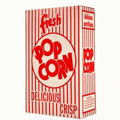 Popcorn Bags Boxes Cups