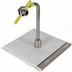 RF Hunter 130 Lb Screen Stem Assembly w/ Clamp - Paper (Made In The USA), Model# HF24130P