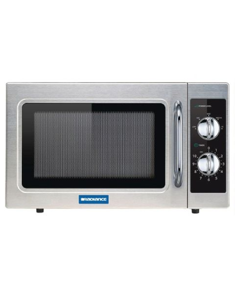 Radiance By Turbo Air 1000w Dial Manual Type Microwave Oven