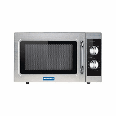 Radiance By Turbo Air 1000W Dial(Manual) Type Microwave Oven, Model TMW-1100NM