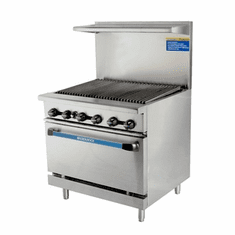 Radiance By Turbo Air 36 W 36 Radiant Broiler Top, Model TAR-36RB