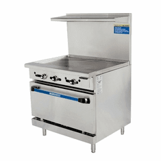 Radiance By Turbo Air 36 W 36 Thermostat Griddle Top, Model TAR-36G