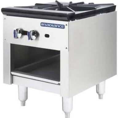Radiance By Turbo Air Double Stock Pot 3 Ring Burner, Model TASP-18-D