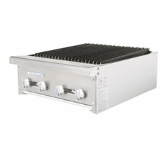Radiance By Turboair Charbroiler Gas 24 Wd 60000 Btu, Model TARB-24