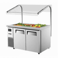 Refrigerated Buffet Prep Tables