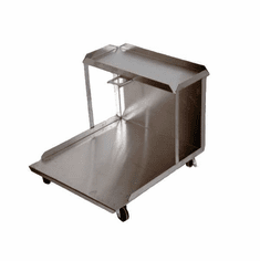 RF Hunter 130 Lb Replacement Stainless Steel Cart Nsf (Made In The USA), Model# HF02130