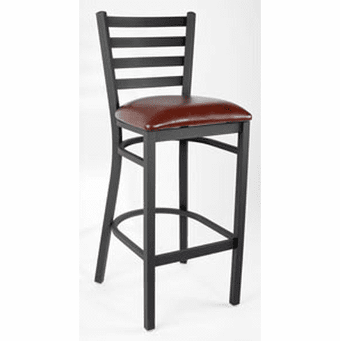 Awe Inspiring Royal Industries Metal Ladder Back Bar Stool Model Roy 9002 Brn Forskolin Free Trial Chair Design Images Forskolin Free Trialorg
