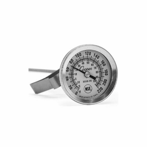 "Sausage Maker 1 3/4"" Dial Thermometer8"" Stem, Model# 49500"