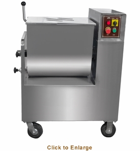 Sausage Maker  220 Lb Capacity Commercial Stainless Steel Meat Mixer, Model# 44146