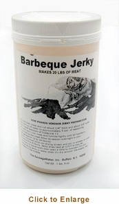 Sausage Maker Bar-B-Que Jerky Seasoning - Makes 20 Lbs, Model# 81003