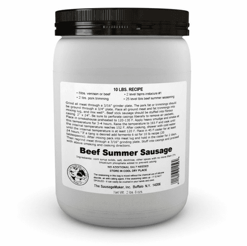 Sausage Maker Beef Summer Sausage Seasoning Makes 50 Lbs , Model# 91450