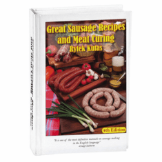 Sausage Maker Book: Great Sausage Recipes & Meat Curing (By Rytek Kutas), Model# 26-1010