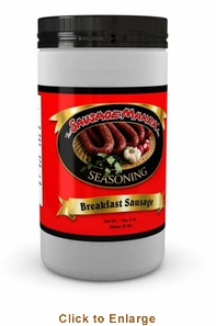 Sausage Maker Breakfast Sausage SeasoningRegular - Makes 50 Lbs, Model# 91200