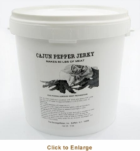 Sausage Maker Cajun Pepper Jerky Seasoning Makes 80 Lbs , Model# 81031