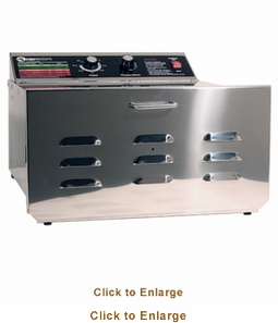 "Sausage Maker D-5 Dehydrator With 1/4"" Stainless Steel Shelves, Model# 32603"