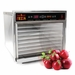 "Sausage Maker D8 Harvest Fiesta SS Digital Food Dehydrator w/SS Shelves (.75"" holes) 110V, Model 32616"