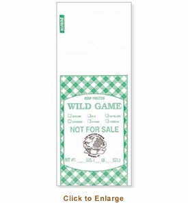 Sausage Maker Game Bags 2 Lb, Model# 28220