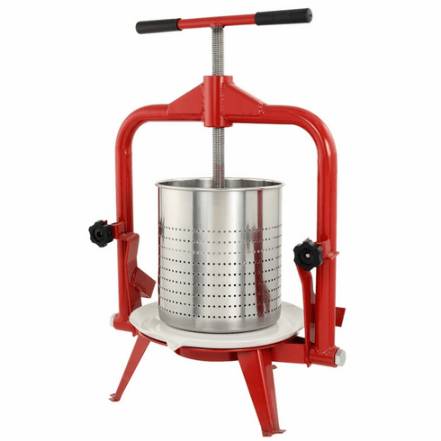 Sausage Maker Harvest 14 L Deluxe Stainless Steel Fruit And Wine Press, Model# 31162