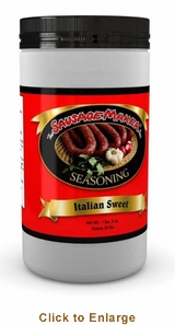 Sausage Maker Italian Sausage SeasoningSweet - Makes 50 Lbs, Model# 91900
