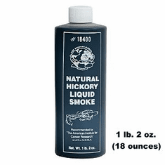 Sausage Maker Natural Hickory Liquid Smoke 16 Oz., Model# 18400