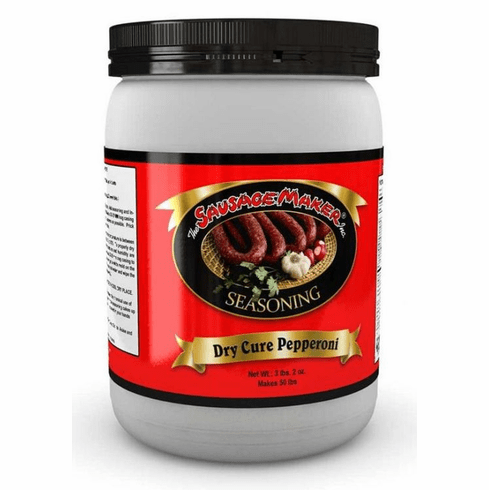 Sausage Maker Pepperoni Dry Cure Pepperoni Seasoning - 3 lbs. 2 oz., Model# 12-1051