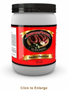 Sausage Maker PepperoniSmoked Pepperoni Seasoning - Makes 50 Lbs, Model# 91110