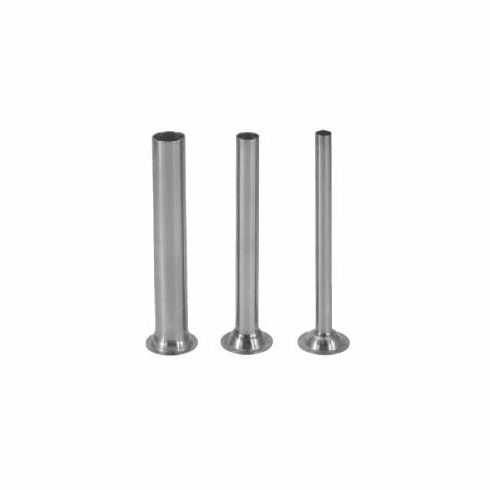 Sausage Maker Set Of 3 Stainless Stuffing Tubes For 5 Lb Stuffers, Model# 56104