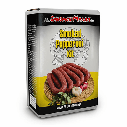 Sausage Maker Smoked Pepperoni Kit With Casings – Makes 25 Lbs, Model# 12-1623