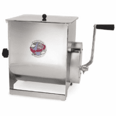 Sausage Maker  Stainless Steel Manual Meat Mixer - 50 Lb Capacity, Model# 44155