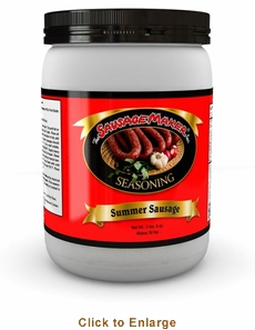 Sausage Maker Venison Summer Sausage Seasoning - Makes 50 Lbs, Model# 91160