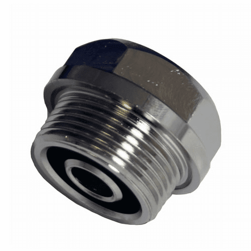Schermer Metal Threaded Bottom Cap, Model# SM05