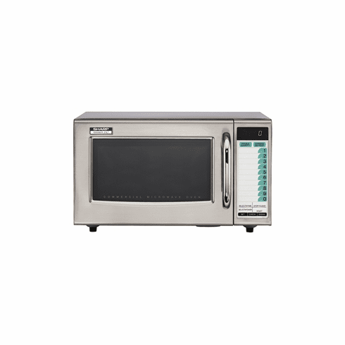 Sharp 1000 Watt Computerized Commercial Microwave Oven, Model# R21LTF