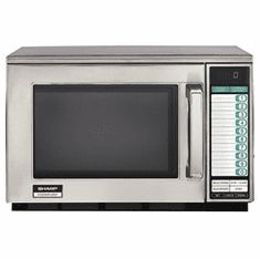 Sharp 1200 Watt Dual Magnetron Commercial Microwave Oven, Model# R-22GTF