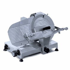 "Sirman 10"" Gravity Feed/Belt Driven Meat Slicer, Model# am250"