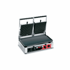 "Sirman Pd R Double Panini Grill - 10"" X 19"" Model APG DOUBLE"