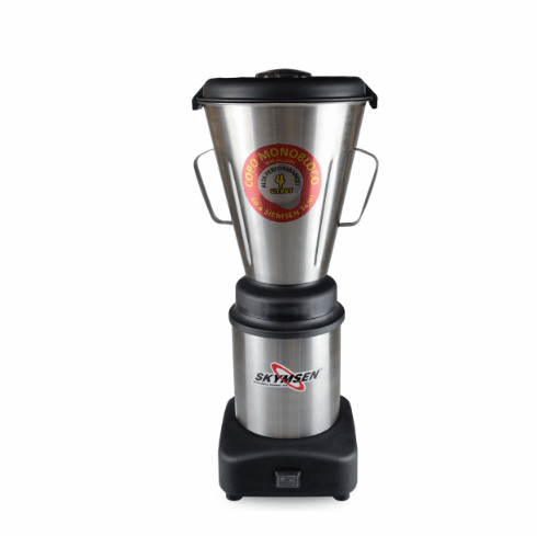 Skyfood (formally Fleetwood by Skymsen) 1 Gallon Blender 3,500 Rpm 1/2 Hp - Stainless Steel Seamless Container, Model# LAR-4MBS
