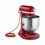 Skyfood Kitchenaid 8-QtBowl-Lift Commercial Stand Mixer - Empire Red - 1.3 Hp Ul / Nsf, Model# KSM8990ER