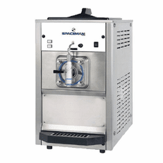 Spaceman Mid capacity, dual flavor counter-top frozen beverage machine with Hopper Agitator, approved for dairy Model 6690H