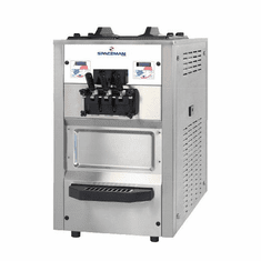 Spaceman Pressurized High capacity single-flavor counter-top soft serve machine with Hopper Agitator and Air Pump Model 6235AH