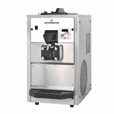 Spaceman Pressurized Single flavor, Mid capacity Counter-top Soft Serve machine with Hopper Agitator and Air Pump Model 6228AH