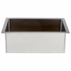 """Steril-Sil E1 System 1-insert drop-in countertop dispenser. Holds (1) E1 insert flush with the countertop. 12.00"""" x 17.25"""" x 6.00"""" H. Made in U.S.A. Model E1-DDF-1VH"""