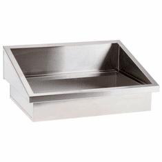 """Steril-Sil E1 System 2-insert drop-in angled countertop dispenser. Holds (2) E1 inserts at angle in the vertical position. 23.25"""" x 16.50"""" x 9.50"""" H. Made in U.S.A. Model E1-DDA-2V"""