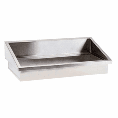 """Steril-Sil E1 System 3-insert drop-in angled countertop dispenser. Holds (3) E1 inserts at angle in the vertical position. 34.75"""" x 16.50"""" x 9.50"""" H. Made in U.S.A. Model E1-DDA-3V"""