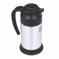 Thunder Group 1.0L Black/Stainless Carafe, Model# TJWB010