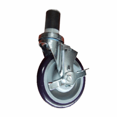 "Thunder Group 5"" Caster With Brake For Work Table, Model# SLWTC005B"