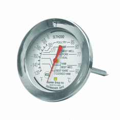 Thunder Group Dial Meat Thermo 120 To 200 F, Model# SLTH200