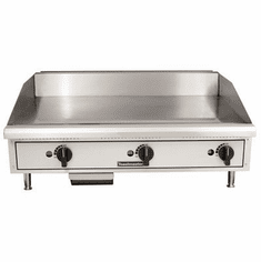 "Toastmaster 36"" Countertop Gas CharbroilerLava RockGas-Natural, Model# TMLC36"