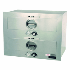 Toastmaster Ele Warmer Built In 2 Drawers 120V, Model# 3B80AT09
