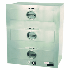 Toastmaster Ele Warmer Built In 3 Drawers 120V, Model# 3C80AT09