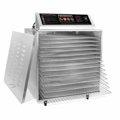 Sausage Maker D-14 Digital Dehydrator with 14 Stainless Steel Shelves Insulated 220V, Model# 24-1022